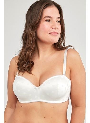 Penti Kadın Beyaz Lotus Point  Sütyen PL482K2Y21IY Beyaz